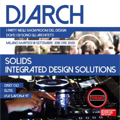 DJ ARCH - Milano 2018