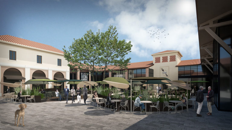 Franciacorta Outlet Village – Restyling Piazza Principale